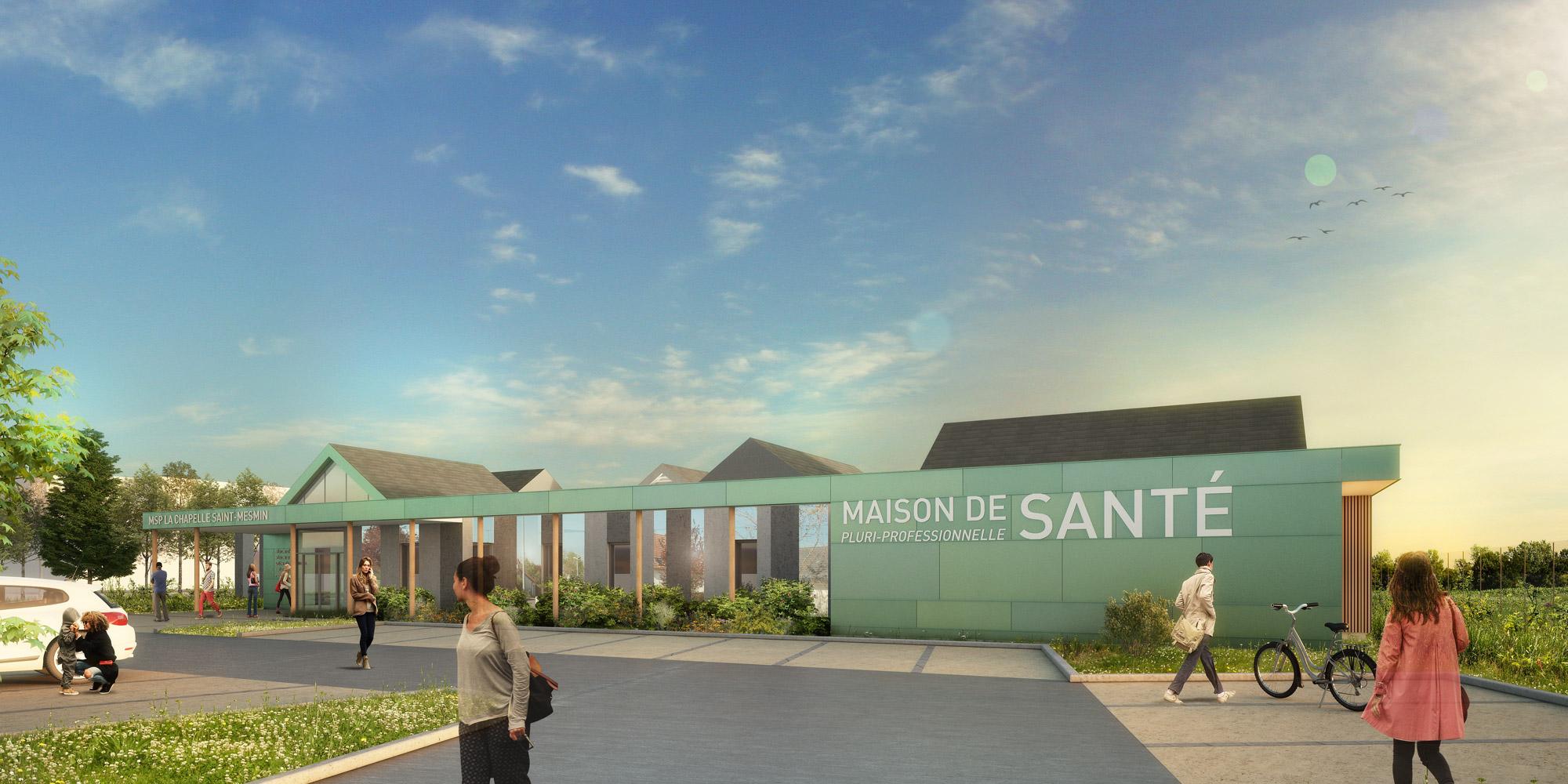 LCM _ Maison de santé _ La Chapelle-Saint-Mesmin