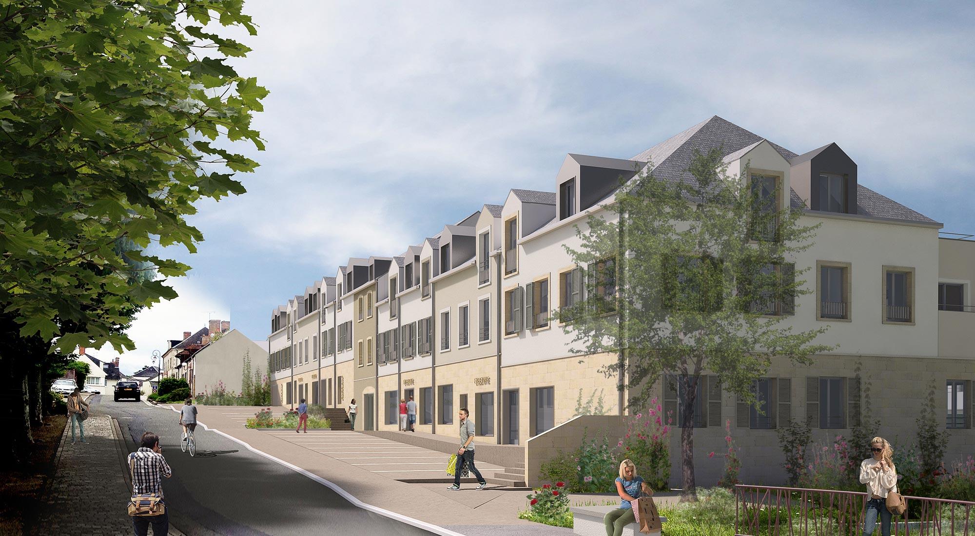 SY _ ZAC Centre Bourg _ Saint-Cyr-en-Val
